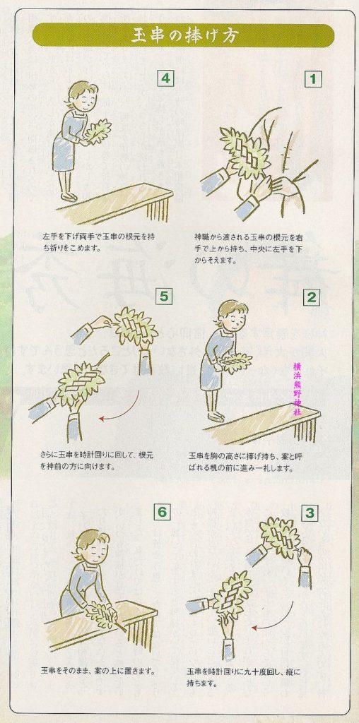 玉串 作法 図